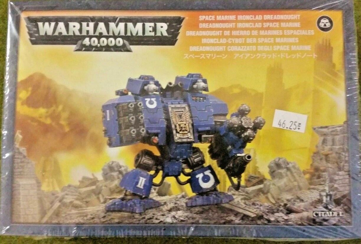 Warhammer 40K Adeptus Astartes Space Marine IRONCLAD DREADNOUGHT, new
