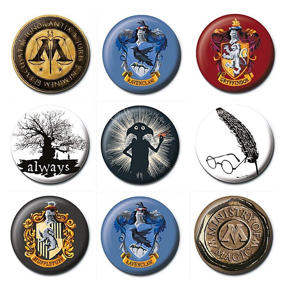 Harry Potter Badge Dobby Silhouette