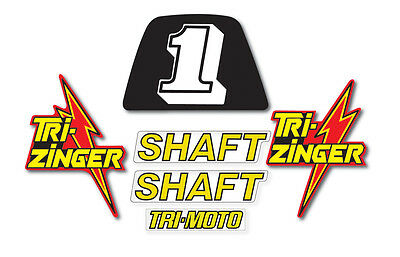1984-1985 YT60 TRI-ZINGER Graphics Kit Decal Stickers 3 wheeler ATC graphic
