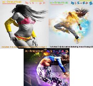 X-TREME-MIX-UP-VOL-1-2-amp-3-3x-CD-039-s-9x-DJ-Club-Remixes-ft-tunes-of-tunage