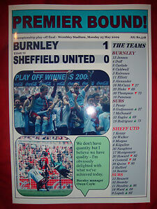 Burnley-1-Sheffield-United-0-2009-Championship-play-off-final-souvenir-print