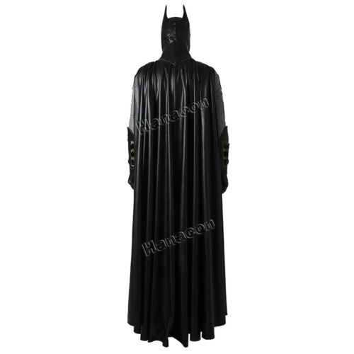Batman Justice League Cosplay Costume Superhero Halloween Outfit Uniform Suit