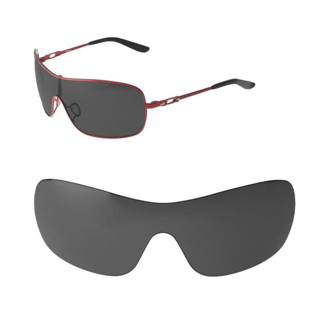 cb4d46fcd7 Walleva Black Polarized Replacement Lenses For Oakley Distress Sunglasses