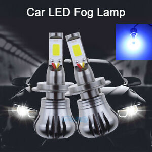 About Replacement Driving Mode Kit 10000k Pair Details H7 Led Lights Blue Drl Dual Fog Light zMpSUV