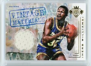 2016-17-Herb-Williams-109-149-Jersey-Panini-Court-Kings-Vintage-Materials