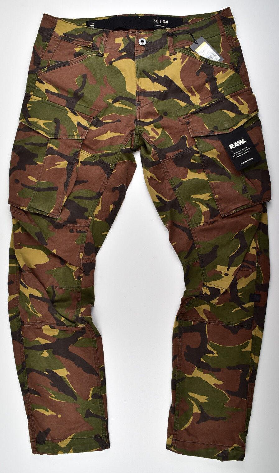G Cargo Star Rovic Fuselé 3d Pantalon Raw Straight 1qUwPHz