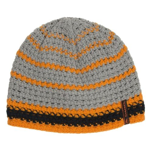 Simms Fly Fishing Chunk Beanie Cap // Hat OSFA NEW! Tangerine Color