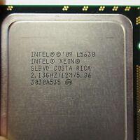Lot of 10 _ Intel Xeon SLBVD L5630 2.13 GHz /12M / 5.86 LGA1366 Quad Core CPU