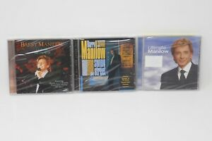 Barry-Manilow-CD-Lot-Ultimate-Manilow-Swing-Street-Live-on-Broadway-SEALED