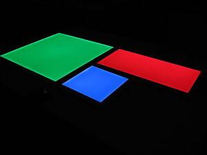 Plafoniera Led Rgb : Rgb flächenvorhang decke del 54w 60x60 cm lampe leuchter farbwechsel