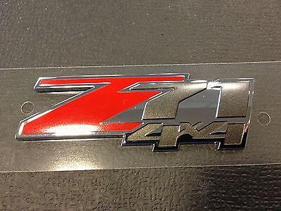 "GENUINE GM CHEVROLET GMC ""Z71 4X4"" EMBLEM GM# 10362941 ..."
