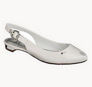 Damen Neu Collection Schuhe Lederimitat Weiß Sandalette Esprit Elegant Edc Gr 38 qXgxRddwI