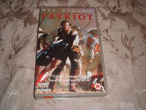 VHS-VIDEO-TAPE-BIG-BOX-THE-PATRIOT-FREE-POSTAGE