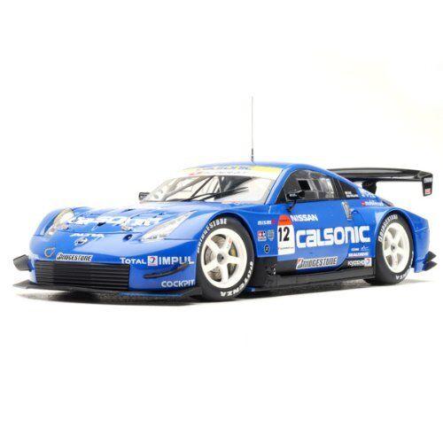 bilkonst Nissan Fairlady Z Z33 2005 Super GT Calsonic C9 1 18 modellllerlerl Bil