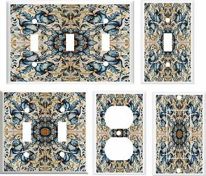 Image Is Loading Of French Tile Light Switch Cover Plate