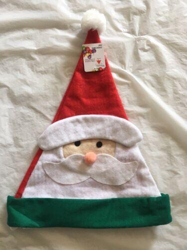 5 pcs christmas cute santa hats christmas party// costume decoration