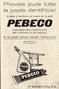 Pubblicita-vintage-dentifricio-denti-Pebeco-old-advert-advertising-reklame-A4