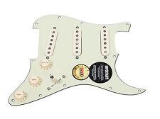 920D Custom Loaded Strat Pickguard Duncan Fender MG/AW SSL-5, '69, Fat 50's