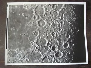 Historical Memorabilia Active Nasa Apollo Rare Real Vintage B&w Photo F13 11x14 Consolidated Lunar Atlas Exploration Missions