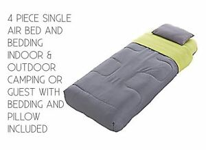 All In One Single Bed Set Indoor Amp Outdoor Camping