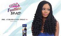 Pre-curled Lusty Twist- Freetress Bulk Crochet Braiding Hair Extension