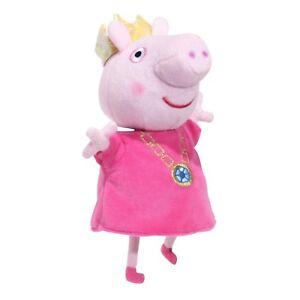 Peppa-Pig-Jouet-Parlant-Princess-Peppa-Pig-Peluche-Jouet-Doux-avec-4-Fun-Phrases-New