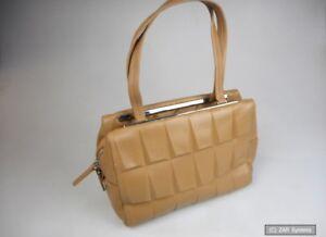Calvin-Klein-KVR017-PMS00-0B0-0-Damen-Handtasche-Echtleder-in-Braun-NEU