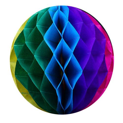 "6/"" Tissue Paper Honeycomb Ball Lanterns Wedding Party Garland Decor Backdrops"