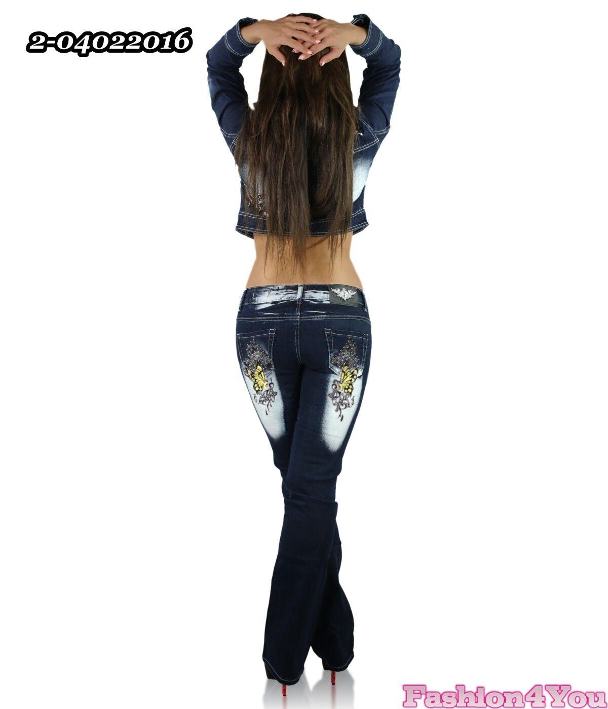 Mesdames Jeans Plus Taille Pantalon pour femme Crazy Age tatouage tatouage tatouage grande taille 14,16,18,20,22 d8cee2