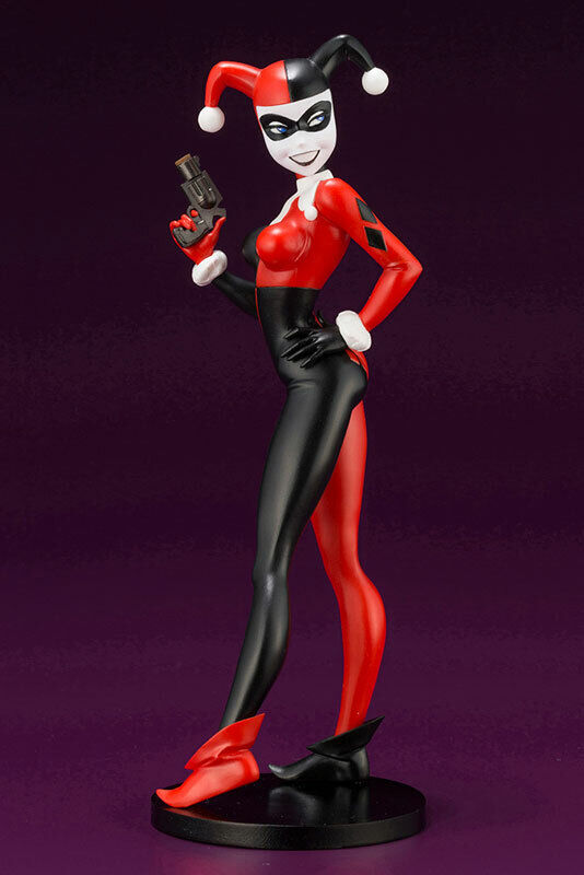ARTFX Plus DC UNIVERSE Harley Quinn Animated 1 10 Kotobukiya Japan New