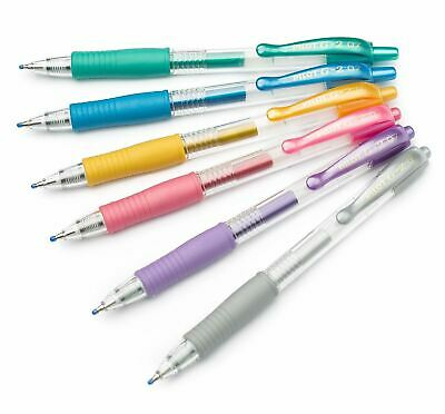 Assorted Gold//Silver//White 3 x Pilot G2 07 Metallic Gel 0.7 Rollerball Pens
