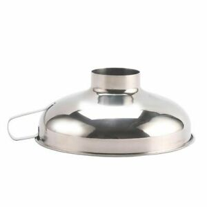 1X-Stainless-Steel-Wide-Mouth-Funnel-Canning-Hopper-Filter-Food-Pickles-JaU9Q7
