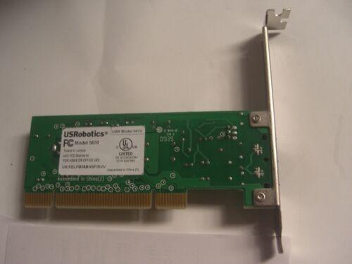 56K v.92//v.90 Faxmodem USRobotics USR5670 PCI