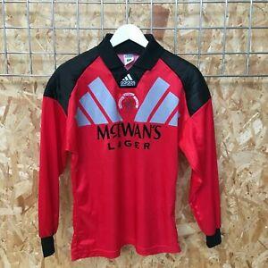 Rangers Adidas Goalkeeper Shirt 1992 1993 1994 - 34'/36' S SMALL - Top Kit