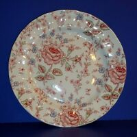 "JOHNSON BROS ROSE CHINTZ PLATE ~ 10"" DINNER PLATE"