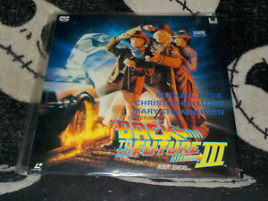 Back-To-The-Future-Part-III-Widescreen-Laserdisc-Ld-Inserire-Giappone