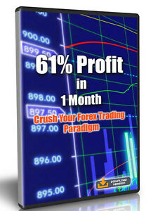 61% Profit In 1 Month - Crush Your Forex Trading Paradigm - Video Tutorial