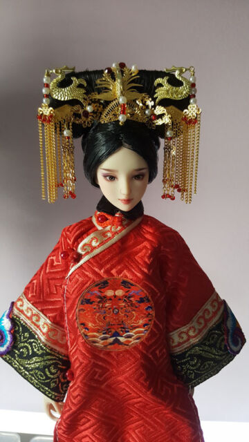 Newly designed Handmade Ancient China Luxury Hair Accessory Barbie Kurhn