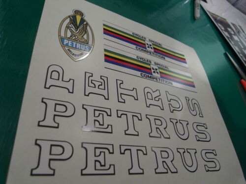 Australia PETRUS Rare opportunity! Superb artwork and print decal set