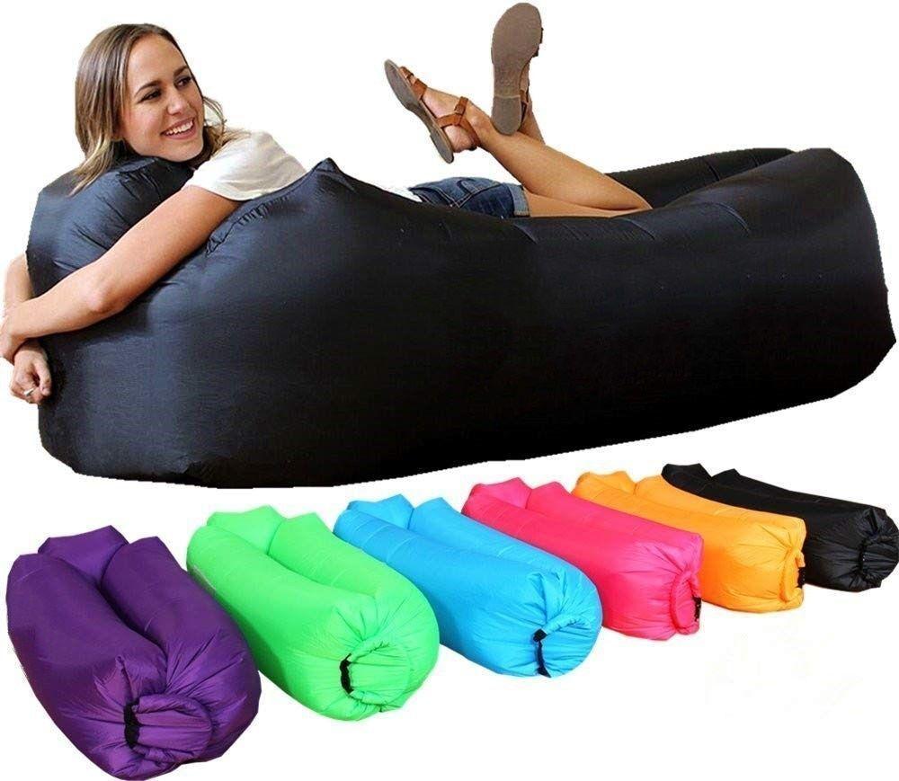 Light sleeping bag Waterproof Inflatable bag lazy sofa camping Sleeping air bags