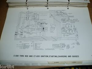 1971 ford truck c600 c700 c800 ct series wiring diagram sheet image is loading 1971 ford truck c600 c700 c800 ct series cheapraybanclubmaster Choice Image