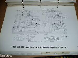1971 Ford truck C600 C700 C800 CT-series wiring diagram ...
