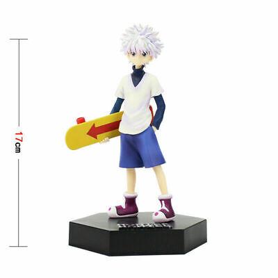 Anime Hunter × Hunter Killua Zoldyck Skate Ver PVC Figure Model Toy New No Box
