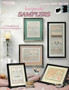 Keepsake-Samplers-Traditional-Charted-Cross-Stitch-Leisure-Arts-280