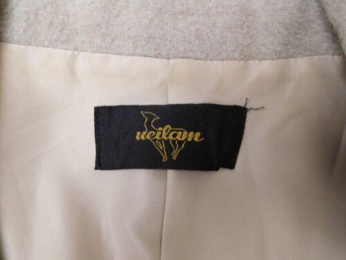 Front Ueilam Beige Amazing S Button Alpaca Blush Jacket Collar Wool Baby Blazer YaaHq7