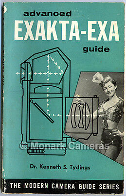 More Film Camera Instruction Manuals Listed Advanced Exakta /& EXA Guide Book