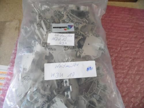 1 Stück Neu aus OVP Weidmüller 1020300000 Durchgangs-Reihenklemmen WDU 10