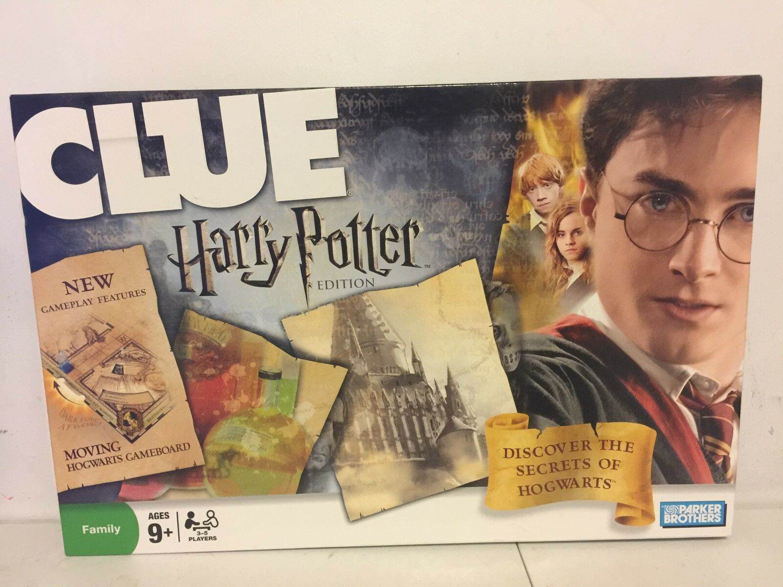 Clue: Harry Potter Edition  Discontinued by manufacturer