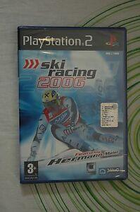 SKI-RACING-2006-ps2-pal-NUOVO
