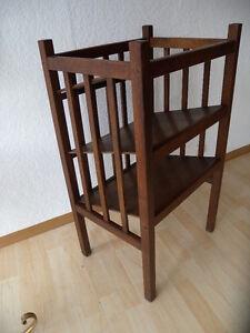 Bauhaus Holzregal deco bauhaus holz regal etagere zeitungsständer bücherregal